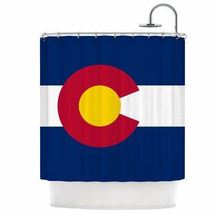 Flag of Colorado Single Shower Curtain