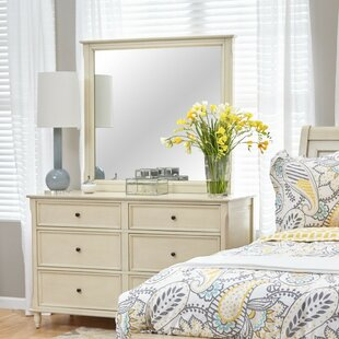 Faron 6 Drawer Double Dresser with Mirror by Canora Grey