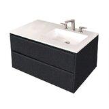 Pronto 36 Wall-Mounted Single Bathroom Vanity Set by LACAVA