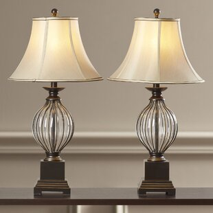 Extra tall table lamps wayfair ontario 31 table lamp set of 2 aloadofball Image collections