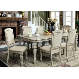 Tandor 7 Piece Dining Set by Enitial Lab