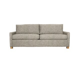 Louisa 87 Square Arm Sofa Bed with USB by Edgecombe Furniture