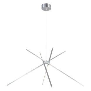 Mahpee 4-Light LED Novelty Pendant
