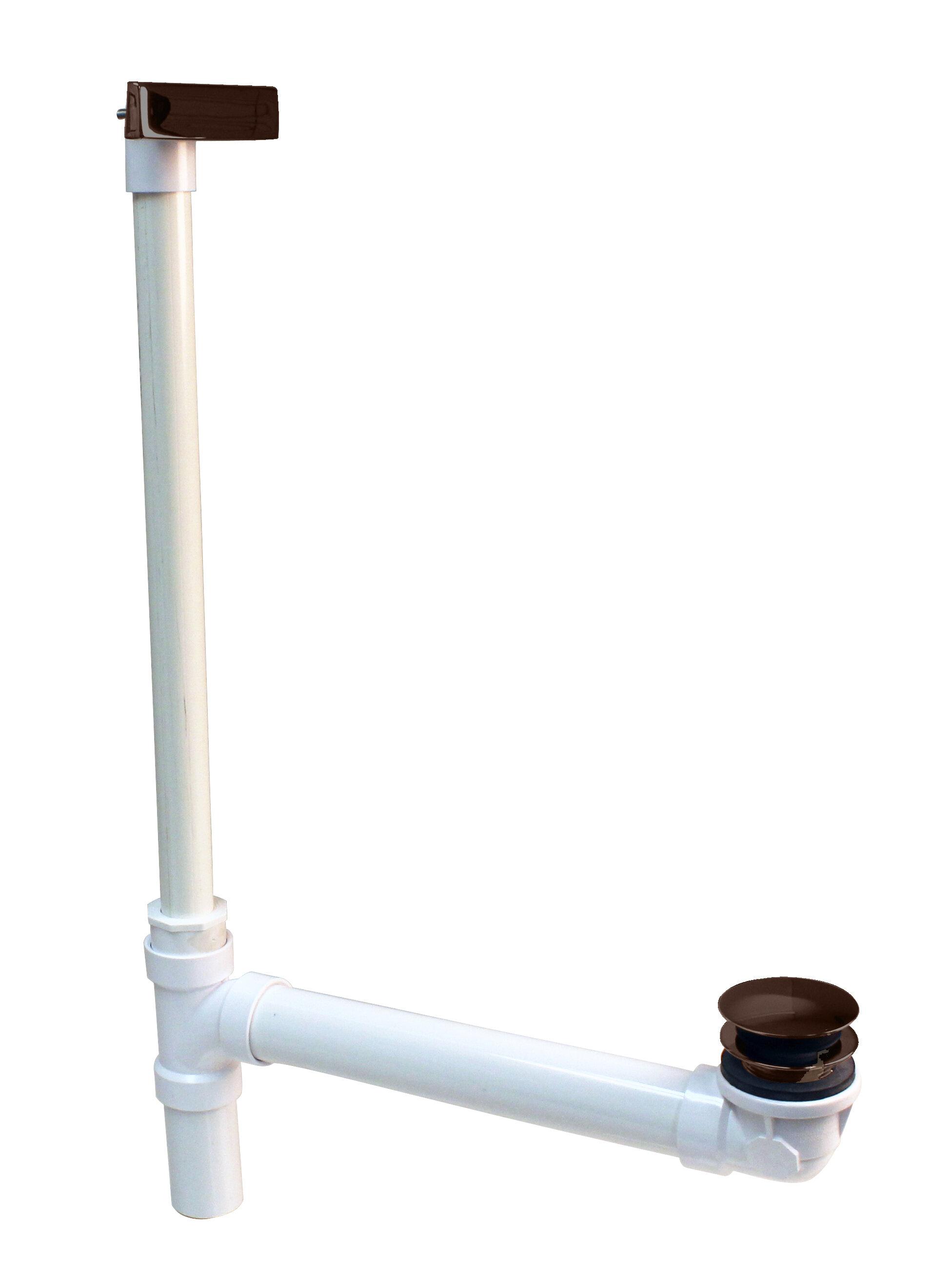 Westbrass Hidden Linear Leg Tub Drain With Overflow Wayfair