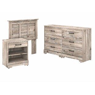 River Brook 3 Piece Dresser Set by Kathy Ireland Home by Bush Furniture