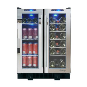 36 Bottle Single Zone Built-In Wine Cooler by Vinotemp