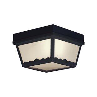 Winston Porter Weesner 1-Light Flush Mount
