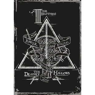 Harry Potter Ly Hallows The Brothers Graphic Art