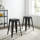 Gabriele 24 Bar Stool (Set of 2) by Canora Grey