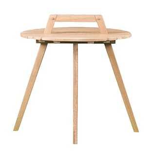 Ivy Bronx Hagedorn Wooden Side Table