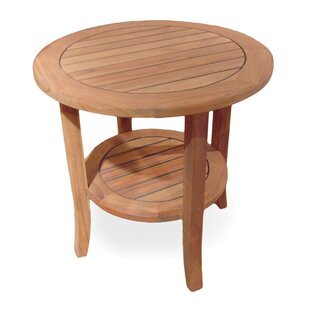 Lloyd Flanders Teak Side Table