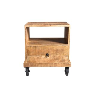 Millwood Pines Cassius Industrial End Table