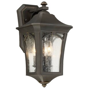 Reviews Coyan 3-Light Outdoor Wall Lantern By Darby Home Co