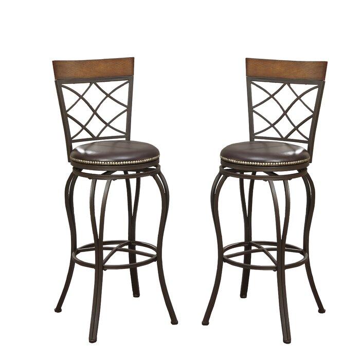 Awesome Calfee 29 Swivel Bar Stool Machost Co Dining Chair Design Ideas Machostcouk