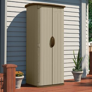 D Plastic Vertical Tool Shed
