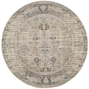 Sylvia Gray Area Rug by Bungalow Rose