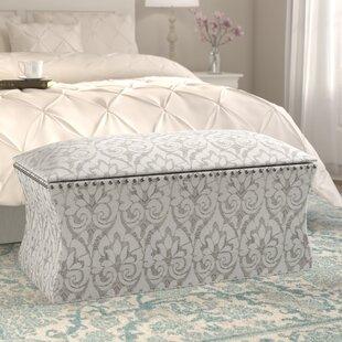 Compare Pegasi Upholstered Storage Bench ByLark Manor