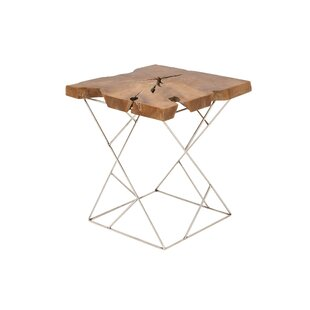 Price comparison Teak and Metal End Table By Cole & Grey