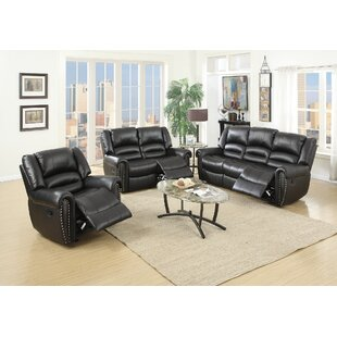 Affordable Miltonsburg Reclining 3 Piece Living Room Set by Red Barrel Studio Reviews (2019) & Buyer's Guide