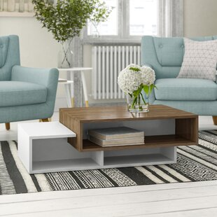 Debussy Coffee Table With Storage By 17 Stories