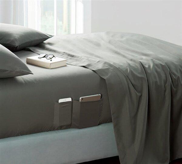 Ebern Designs Marnell Bedside Pocket Sheet Set Reviews Wayfair