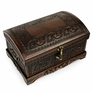 Dark Inca Sea Wood Jewelry Box ByBloomsbury Market