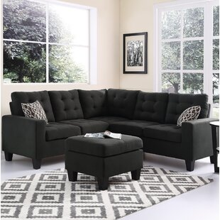 Winston Porter Averie Sectional with Otto..