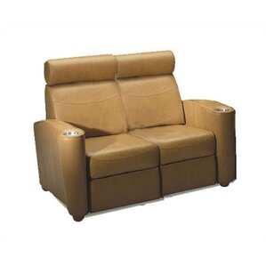 Diplomat Home Theater Loveseat by Bass