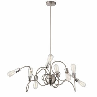 Orren Ellis Debussy 8-Light Sputnik Chandelier