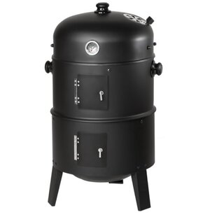 3 In 1 BBQ Charcoal Smoker And Grill (Set Of 5) By Symple Stuff