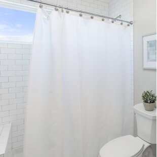Wayfair Basics Vinyl Single Shower Curtain Liner By Wayfair Basics?