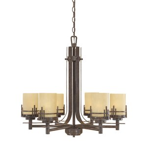 Designers Fountain Mission Ridge 6-Light Shaded Chandelier