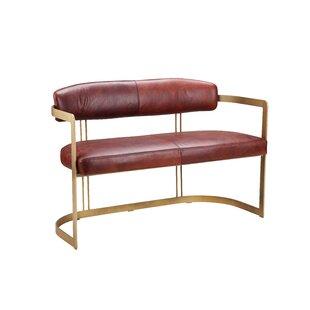 Mercer41 Wincanton Leather Bench