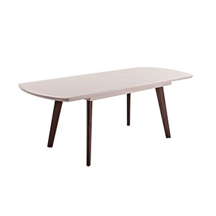 Guffey Extendable Dining Table Ivy Bronx