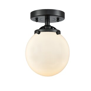 Rufina 1-Light Semi Flush Moun..