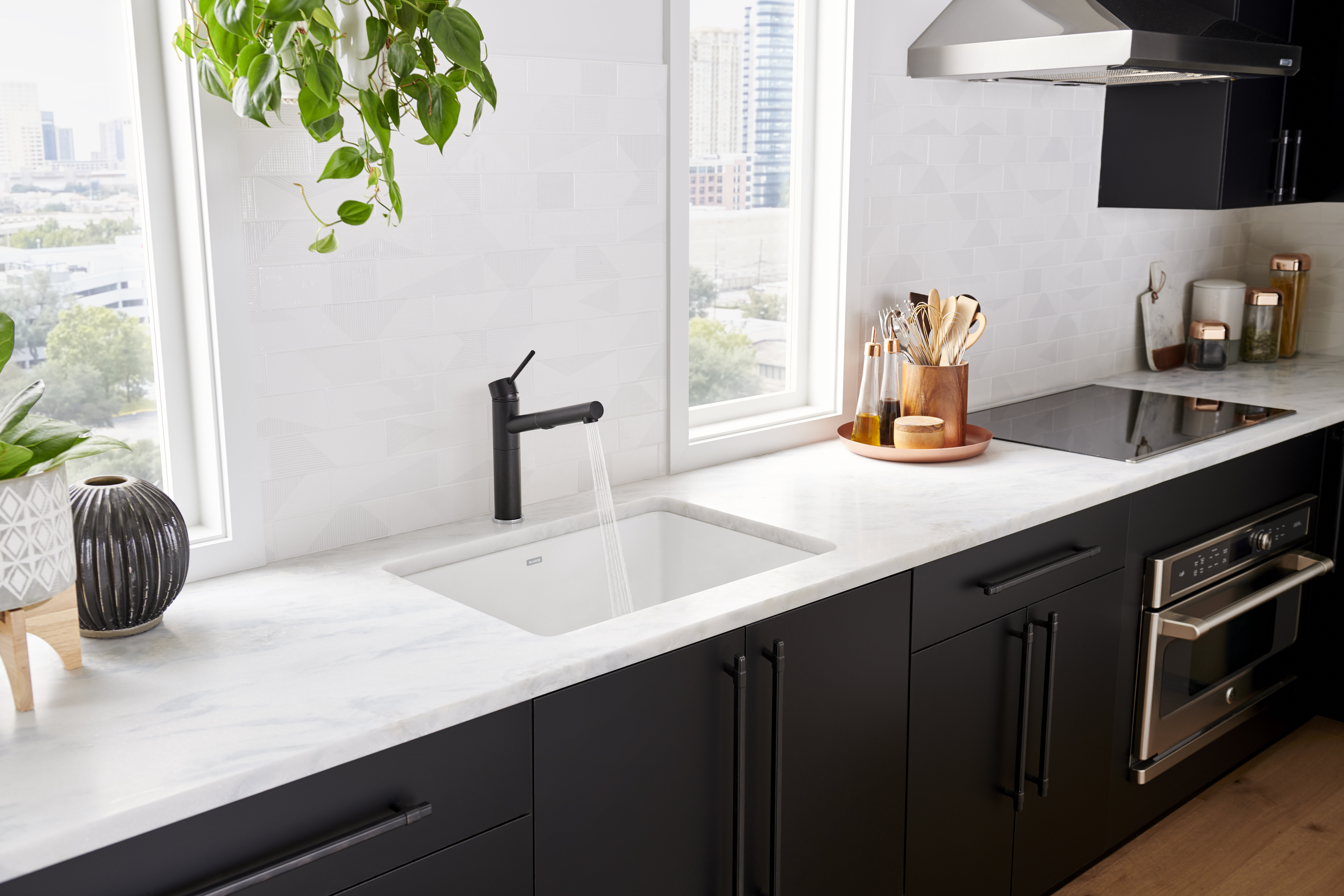Blanco Precis Silgranit 27 L X 18 W Undermount Kitchen Sink Reviews Wayfair