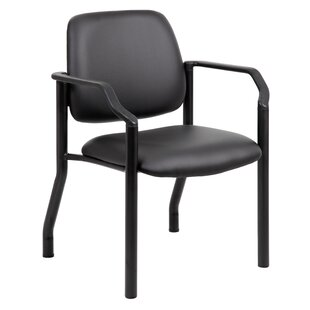 Compare prices Johnsen Antimicrobial Guest Chair by Symple Stuff