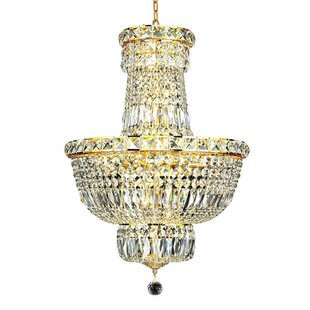 Fulham 12-Light Empire Chandelier by House of Hampton