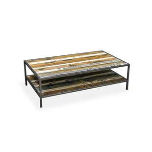 Charmine Solid Wood Coffee Table With Storage By Williston Forge