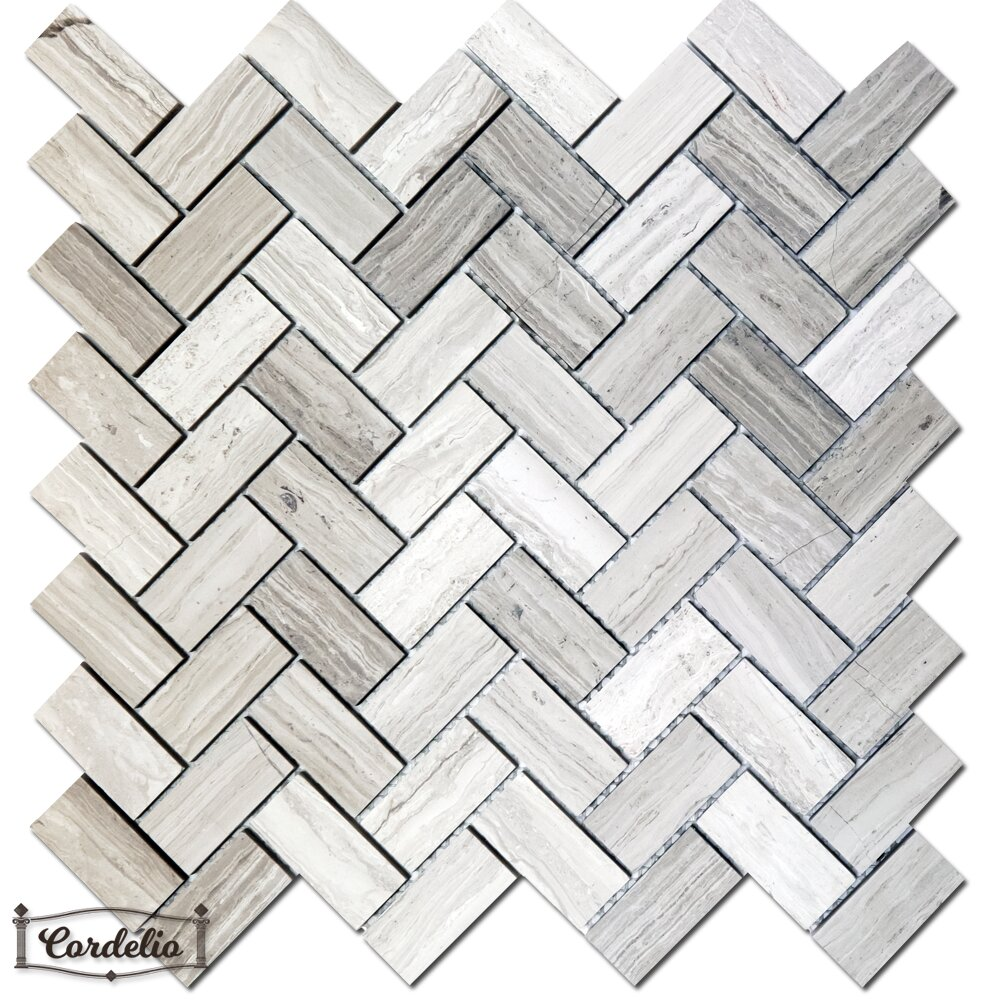 Cordelio Herringbone Honed 1 X 2