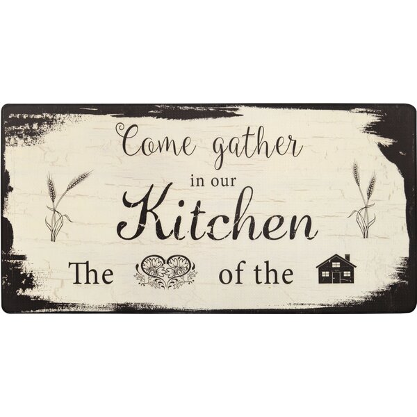 Nicole Miller Cook N Comfort Come Gather Kitchen Mat Amp Reviews Wayfair