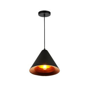 CWI Lighting Keila 1-Light LED Cone Pendant