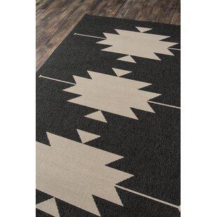 Marlatt Charcoal Indoor/Outdoor Area Rug