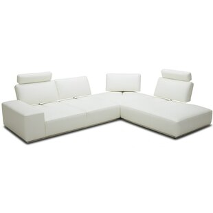 Brionna Leather Sectional
