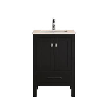 Ebern Designs Jez Waterproof Ergonomic Design 20 Single Bathroom Vanity Set Wayfair