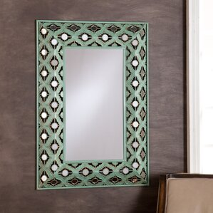 rectangle wall mounted decorative wall mirror