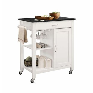 Turnersville Creative Unique Utility Kitchen Cart by Ebern Designs