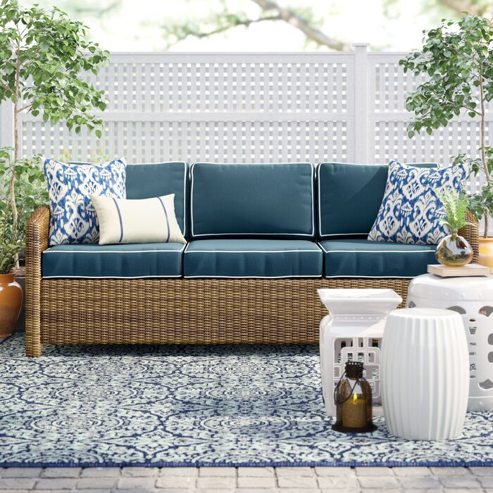 Fantastic Lawson Patio Sofa With Cushions Inzonedesignstudio Interior Chair Design Inzonedesignstudiocom