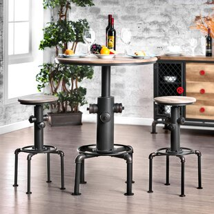 Poncha 3 Piece Pub Table Set Trent Austin Design