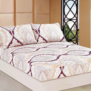 Randle 100% Polyester Fitted Sheet Set